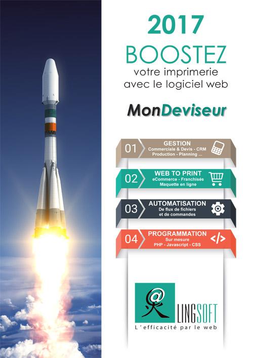 plaquette commerciale Lingsoft - Mondeviseur 2017